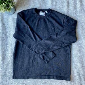 Men's Lacoste Italian Yarn Long Sleeve Crewneck L